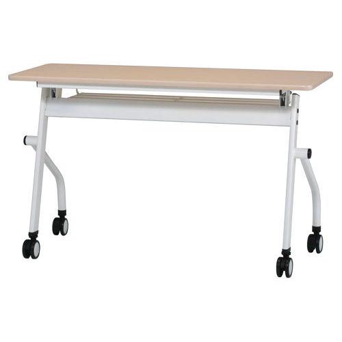 テーブル(会議用) 平行スタックテーブル PND-1245 W1200×D450×H720(mm)のメイン画像