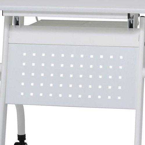 テーブル(会議用) 井上金庫(イノウエ) 幕板パネル スチール パンチング仕様 W1200mm用 PND-12M PNDテーブル専用商品画像3