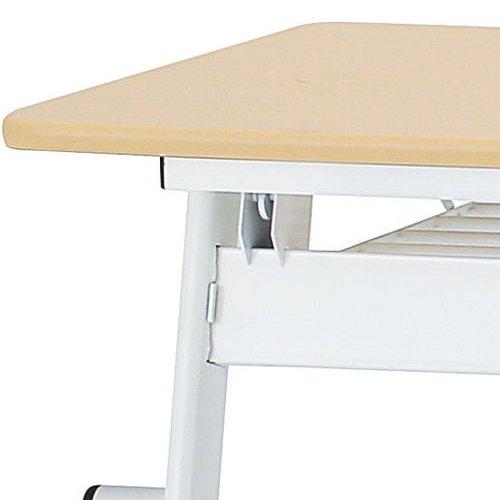 テーブル(会議用) 平行スタックテーブル PND-1560 W1500×D600×H720(mm)商品画像6