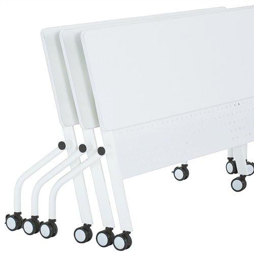 会議用テーブル 井上金庫(イノウエ) 平行スタックテーブル PND-1845 W1800×D450×H720(mm)商品画像3