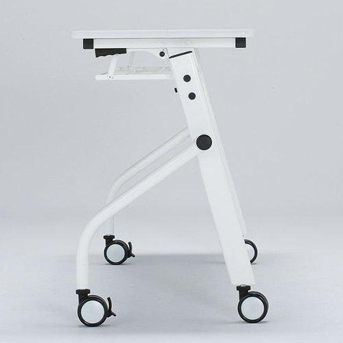 テーブル(会議用) 平行スタックテーブル PND-1845 W1800×D450×H720(mm)商品画像4