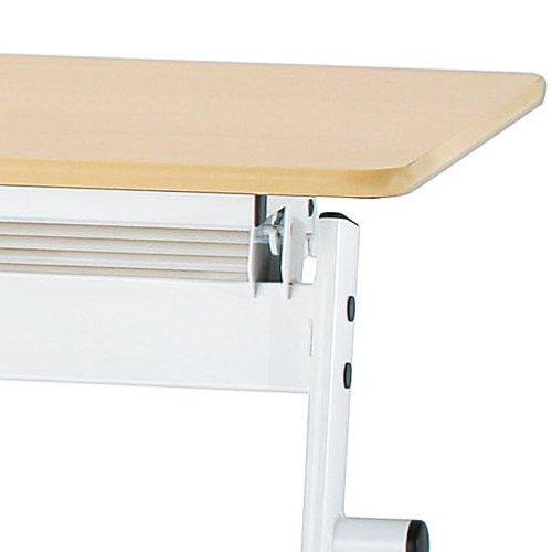 会議用テーブル 井上金庫(イノウエ) 平行スタックテーブル PND-1845 W1800×D450×H720(mm)商品画像7