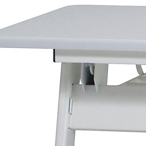 テーブル(会議用) 平行スタックテーブル PND-7545 W750×D450×H720(mm)商品画像6