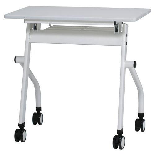 テーブル(会議用) 平行スタックテーブル PND-7545 W750×D450×H720(mm)のメイン画像