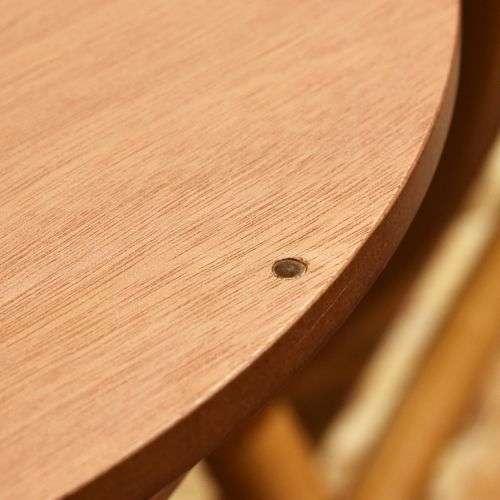 サイドテーブル AZUMAYA(東谷) PT-616 ブラウンカラー オーク化粧合板・化粧繊維板 天板内部収納スペース付き トレーテーブル商品画像7