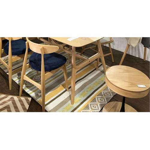 サイドテーブル PT-617 ナチュラルカラー オーク化粧合板・化粧繊維板 天板内部収納スペース付き トレーテーブル商品画像8