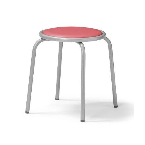 スツール(丸椅子) 背なし スタッキングチェア RC-60 固定脚 粉体塗装商品画像3