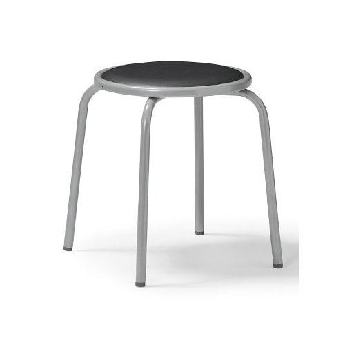 スツール(丸椅子) アイコ 背なし スタッキングチェア RC-60 固定脚 粉体塗装のメイン画像