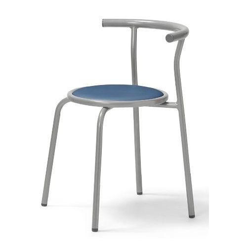 スツール(丸椅子) 背付き スタッキングチェア RC-70 固定脚 粉体塗装商品画像3