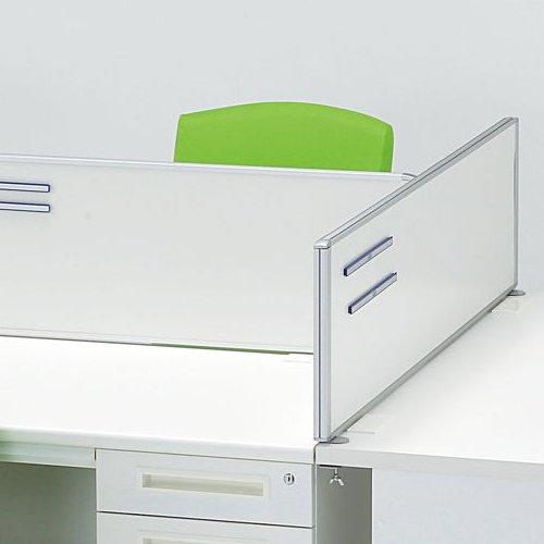 デスクトップパネル スチールタイプ ホワイト色 RDP-1200SWH W1200×H350(mm)商品画像6
