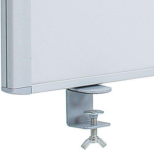 デスクトップパネル スチールタイプ ホワイト色 RDP-1400SWH W1400×H350(mm)商品画像3