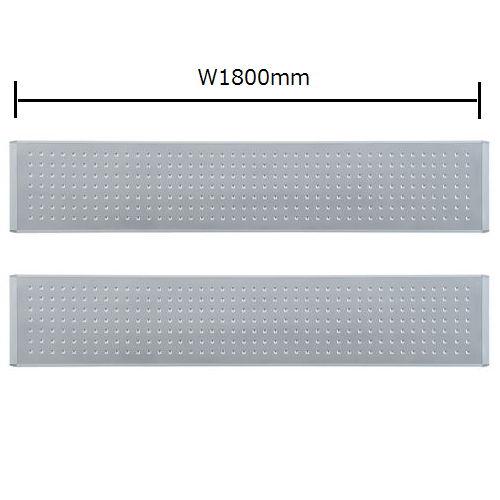 テーブル(会議用) 井上金庫(イノウエ) デスクトップパネル メタル仕様 RDP-3600MP UTSテーブル(W3600×D1200)専用のメイン画像