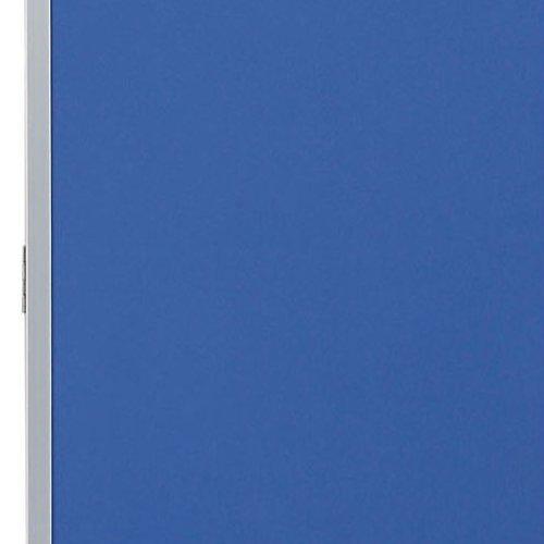 パーティション(間仕切り) 3連パーティション 三つ折りパネル RM3-CBL 布ブルー色パネル商品画像4