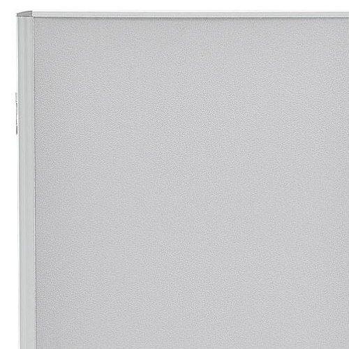 パーティション(間仕切り) 3連パーティション 三つ折りパネル RM3-CGL 布グレー色パネル商品画像3