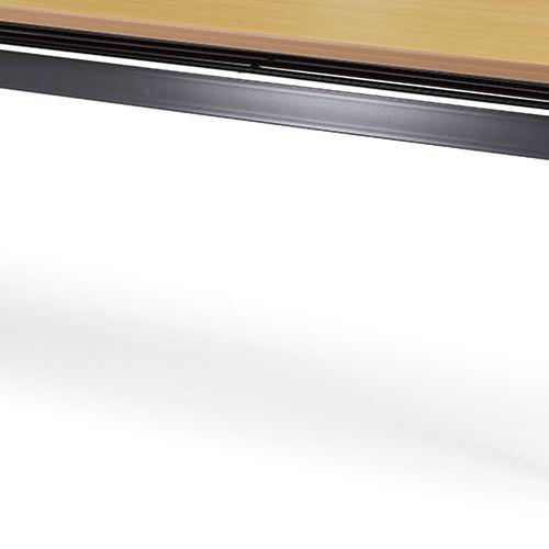 会議用テーブル SAG-1545 W1500×D450×H700(mm) サイドスタックテーブル 棚付き・パネルなし商品画像10