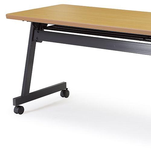 会議用テーブル SAG-1860 W1800×D600×H700(mm) サイドスタックテーブル 棚付き・パネルなし商品画像10