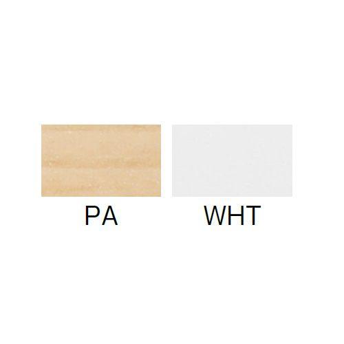 会議用テーブル SAGP-1860 W1800×D600×H700(mm) サイドスタックテーブル 棚付き・パネル付き商品画像3