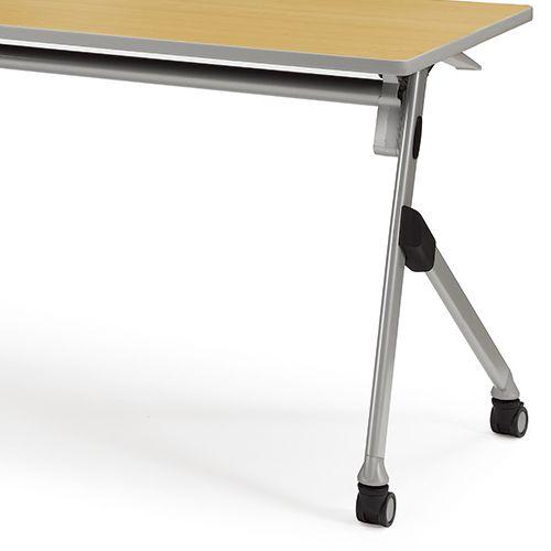 会議用テーブル SAK-1860 W1800×D600×H720(mm) 平行スタックテーブル 棚なし・パネルなし商品画像10