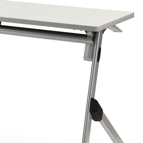 会議用テーブル SAK-2145 W2100×D450×H720(mm) 平行スタックテーブル 棚なし・パネルなし商品画像9