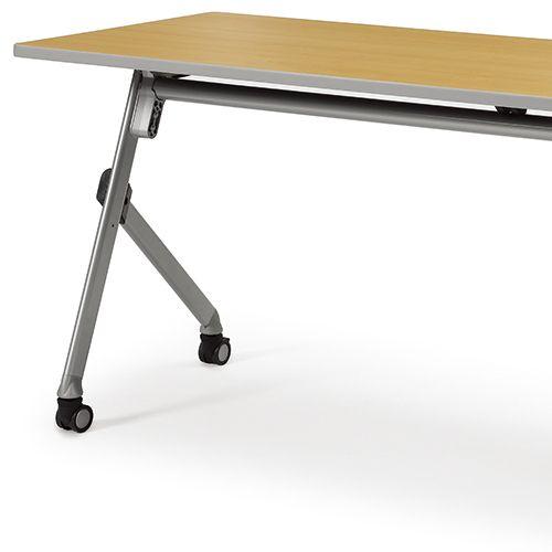会議用テーブル SAK-2160 W2100×D600×H720(mm) 平行スタックテーブル 棚なし・パネルなし商品画像8