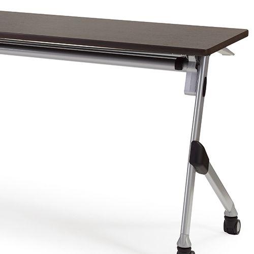 会議用テーブル SAKT-1845 W1800×D450×H720(mm) 平行スタックテーブル 棚付き・パネルなし商品画像10