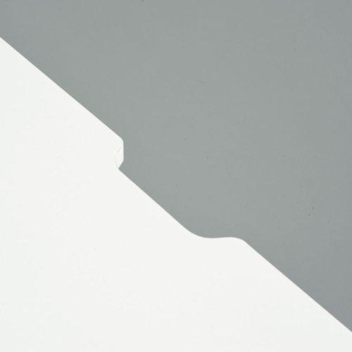 ワークデスク 井上金庫(イノウエ) ホワイト SFD-107 W1000×D700×H700(mm)商品画像3