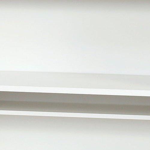 シューズロッカー(下駄箱) オープンタイプ 2段 SKL1200-2 W1200×D330×H900(mm)商品画像4