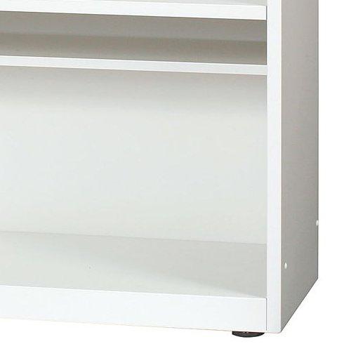 シューズロッカー(下駄箱) オープンタイプ 2段 SKL1200-2 W1200×D330×H900(mm)商品画像5