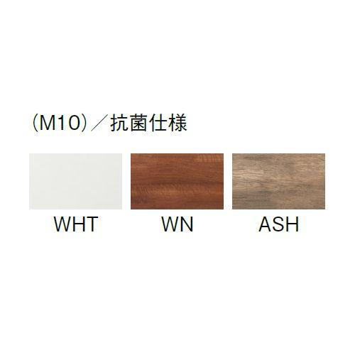 会議用テーブル SLTW-1212 W1200×D1200×H720(mm) ホワイトカラー粉体塗装4本脚テーブル コードホール付き商品画像5
