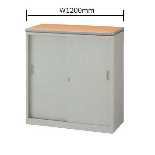 カウンター ハイカウンター SNC型 錠付き・総扉タイプ SNC1290AK W1200×D460×H950(mm)のメイン画像