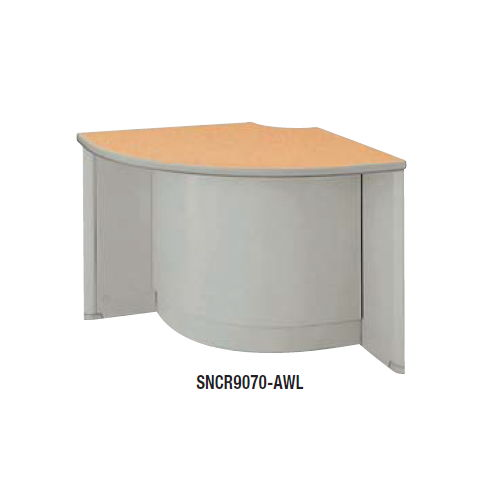 【WEB販売休止中】カウンター 外ローコーナー90° ナイキ SNC型 ローカウンター SNCR9070 W900×D900×H700(mm)のメイン画像