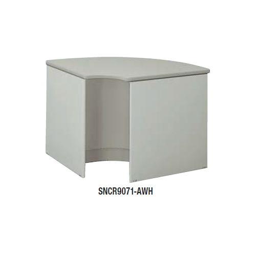 【WEB販売休止中】カウンター 内ローコーナー90° ナイキ SNC型 ローカウンター SNCR9071 W900×D900×H700(mm)商品画像2