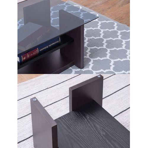 センターテーブル AZUMAYA(東谷) SO-100BR 8mm強化スモークガラス ブラウンカラー W1000×D500×H340(mm)商品画像4