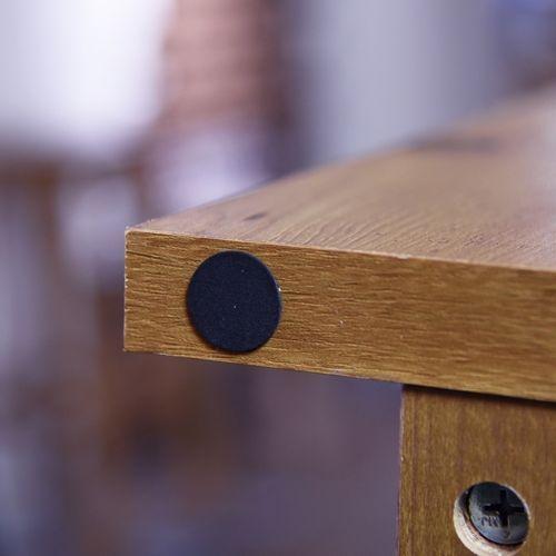 センターテーブル SO-100NA 8mm強化スモークガラス ナチュラルカラー W1000×D500×H340(mm)商品画像9