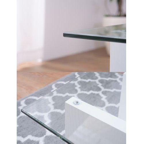 センターテーブル SO-100WH 8mm強化ガラス ホワイトカラー W1000×D500×H340(mm)商品画像6