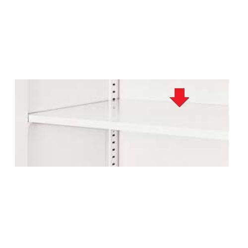 キャビネット・収納庫 棚板 棚受け付き ホワイトカラー CW型 SS-900M-W W883×D382×H15(mm)のメイン画像