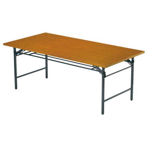 折りたたみテーブル 共貼り Tテーブル T-1890 W1800×D900×H700(mm)のメイン画像