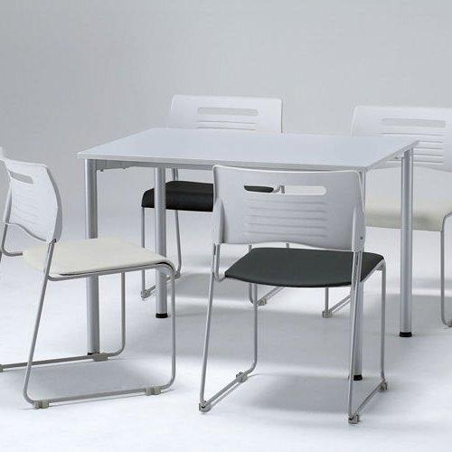 テーブル(会議用) 井上金庫(イノウエ) 4本脚 ワークテーブル T4-107 W1000×D700×H700(mm)商品画像3