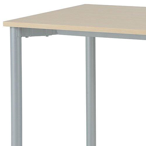 テーブル(会議用) 4本脚 ワークテーブル T4-127 W1200×D700×H700(mm)商品画像4