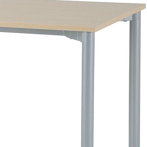 テーブル(会議用) 4本脚 ワークテーブル T4-127 W1200×D700×H700(mm)商品画像5