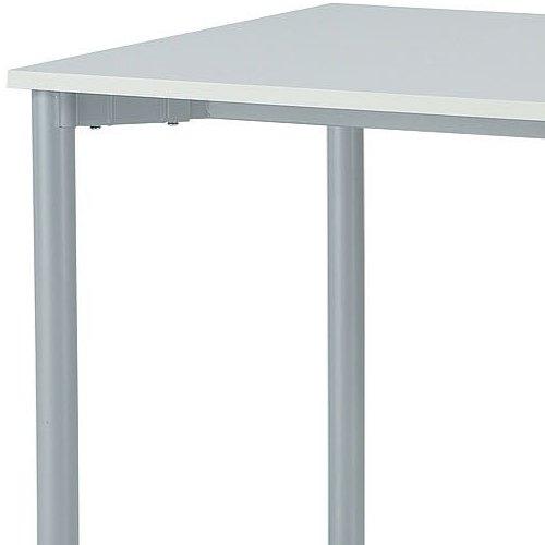 テーブル(会議用) 4本脚 ワークテーブル T4-147 W1400×D700×H700(mm)商品画像4