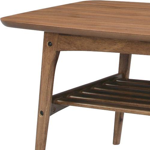 センターテーブル トムテシリーズ AZUMAYA(東谷) TAC-228WAL コーヒーテーブル W1050×D500×H400(mm)商品画像3