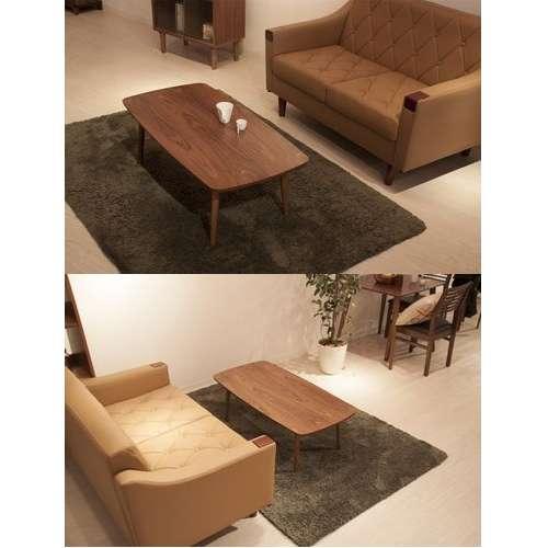 フォールディングテーブル トムテシリーズ AZUMAYA(東谷) TAC-229WAL 折りたたみテーブル W1050×D520×H350(mm)商品画像5