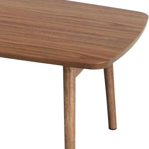 フォールディングテーブル トムテシリーズ AZUMAYA(東谷) TAC-229WAL 折りたたみテーブル W1050×D520×H350(mm)商品画像7