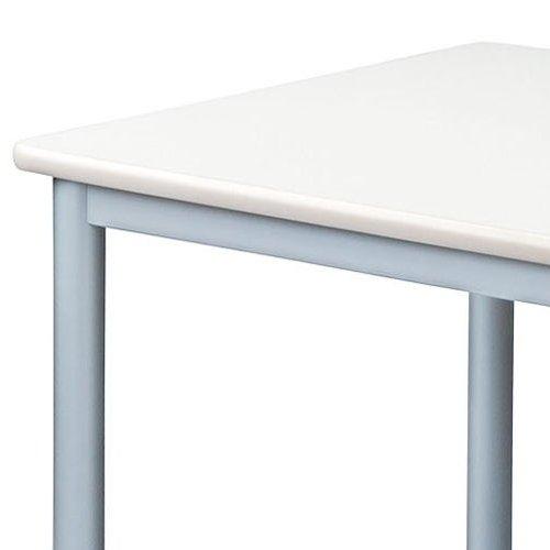 テーブル(会議用) 4本脚 正方形天板 TL-0909 W900×D900×H700(mm)商品画像3