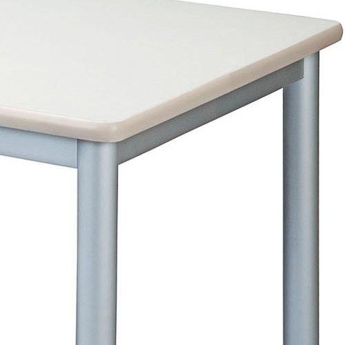 テーブル(会議用) 4本脚 正方形天板 TL-0909 W900×D900×H700(mm)商品画像4