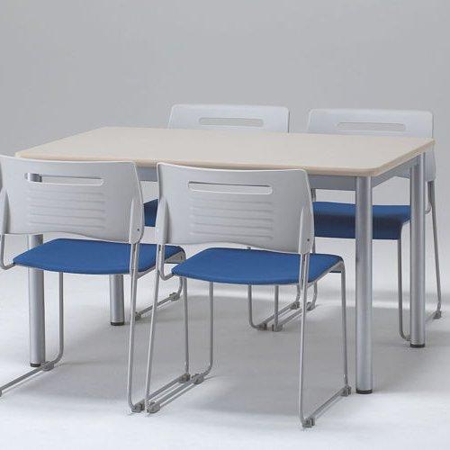 テーブル(会議用) 井上金庫(イノウエ) 4本脚 TL-1575 W1500×D750×H700(mm)商品画像3