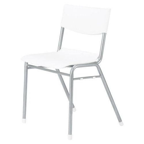 学校(スクール)家具 アイコ スクール・セミナー用スッキングチェア 学習椅子 TMC-430 固定脚 肘なし ヌード商品画像1