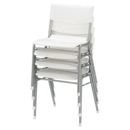 学校(スクール)家具 アイコ スクール・セミナー用スッキングチェア 学習椅子 TMC-430 固定脚 肘なし ヌード商品画像4