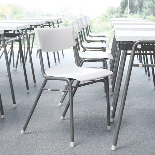 学校(スクール)家具 アイコ スクール・セミナー用スッキングチェア 学習椅子 TMC-430 固定脚 肘なし ヌード商品画像5